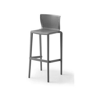 Barová Stolička Spiker Plast Sivá