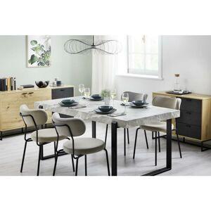 Jedálenský Stôl Mila - Imitácia Mramoru