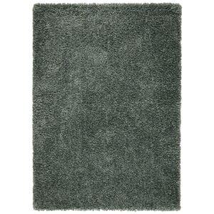 Koberec S Vysokým Vlasom Simon 1, 120/170cm, Zelená