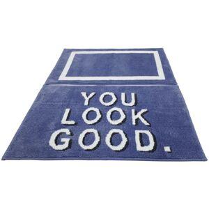 Kúpeľňová Predložka You Look Good, 42/60+53/86cm