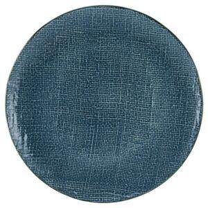 Plytký Tanier Canvas, Ø: 28cm, Modra
