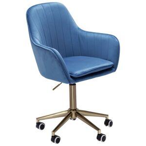 Stolička K Písaciemu Stolu Modrá