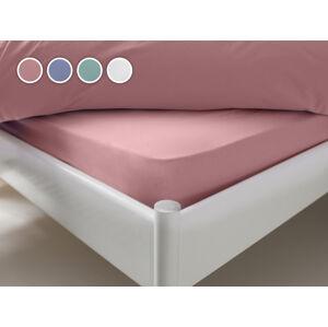Posteľná plachta Essentials Dormeo, 180x200 cm, ružová
