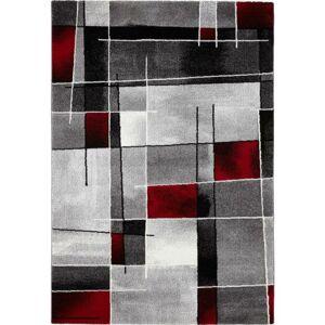 Tkaný Koberec Ibiza 3, 160/230cm, Červená