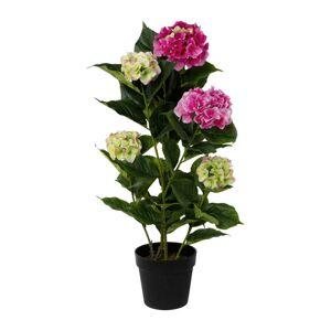 Umelá Rastlina Hortenzia I, Výška: 92cm